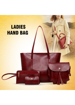 Ladies Fashion 4pcs Hand Bag, LBG1