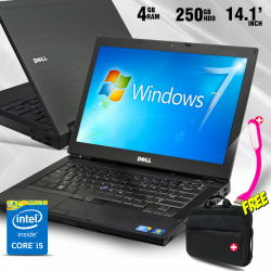Dell Latitude E64103 In 1 Bundle Offer, Dell Latitude E6410, Intel® Core™ I5, Laptop-bag, Usb Led Lamp, E64103b