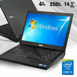 "Dell Latitude E6410, Intel® Core™ i5-, 4GB Memory, 250 GB HDD, DVDRW, 14.1"" HD LED, Windows 8, E6410"