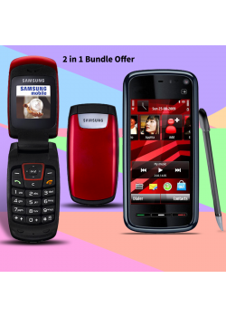 2 in 1 Bundle Offer , Nokia 5233 Xpressmusic Mobile Phone, Samsung C260, C2605233