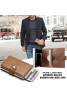 3 In 1 Bundle Offer, Automatic wallets PU leather business and credit card pop up mini slim wallet 14 cards holder, Woods Genuine Leather Belt For Men, Brightest Sunglasses Unisex 3B