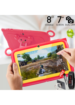 Cidea, Kids Tablet 7 Inch, Android 6.1, 8GB, 1GB DDR3, Wi-Fi, Dual Core, Dual Camera
