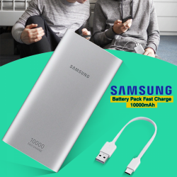 Samsung 10000mAh Fast Charge Battery Pack, EB-P1100CSEGAE