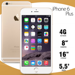 Apple iPhone 6 Plus, 16GB R, Silver