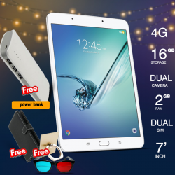 Discover Note2, Tablet 7.0 inch, Android 6.0. 16GB, 4G, Wi-Fi, Quad Core, Dual Camera With Free Power Bank
