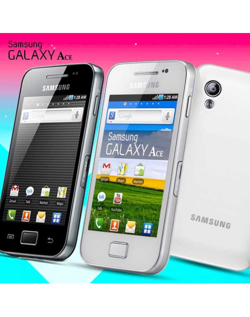 Samsung Galaxy Ace S5830i, Ceramic White