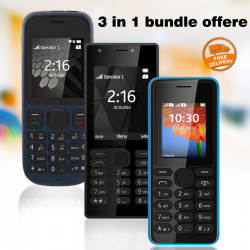 New Mobile Hungama 3 in 1 bundle offere, B-mobile B216, B-mobile B1000, B-mobile B108