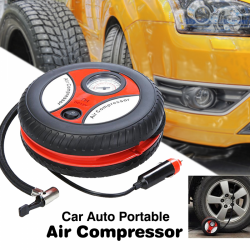 Car Auto Portable Mini Tire Inflator Air Compressor, CPS51