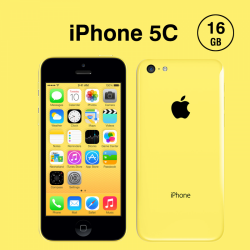 Apple iPhone 5C 16GB, Yellow