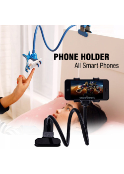 Universal Car Holder Stand Lazy Bed Phone Holder Selfie Mount for All Smart Phones