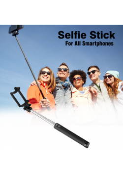 Selfie Stick with Cable For All Smartphones