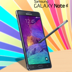 Samsung Galaxy Note 4 N910AR, 4G LTE, Charcoal black