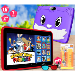Lenosed Kids Tablet A73, 7 Inch, Android 6.1, 16GB, 2GB DDR3, Wi-Fi, Dual Core, Dual Camera