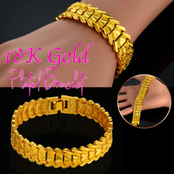 Royal Gold 18K Gold Plated Bracelet, RG78