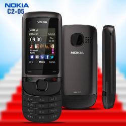Nokia C2-05 Touch and Type, Black