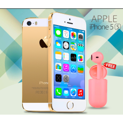 Apple iPhone 5S 16GB - R, Free Mini Portable Single Earphone Inpods