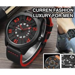 Curren Fashion Luxury Clock Military Wristwatch For Men, 8258 - 12290