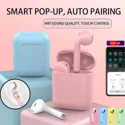Mini Portable Single Earphone Inpods One Bluetooth 5.0 Wireless Macrons Colourful Headset, INS