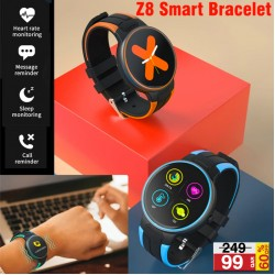Lenosed Z8 Smart Bracelet Sport Wristband And Touchscreen With Waterproof, Heart Rate, Sleep Monitor, Z8