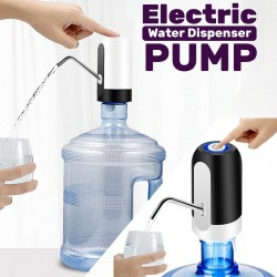 buy 1 get 1 free Wireless Automatic Electric Gallon Bottle Drinking Water Pump Dispenser Switch, EA9O