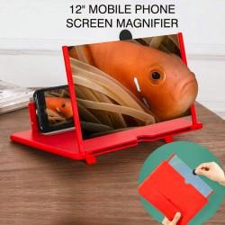 "12"" Mobile Phone Screen Magnifier 3D High-Resolution Amplifire, A55"