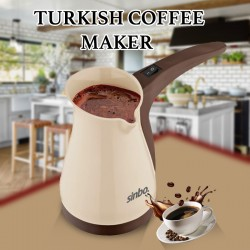 Sinbo Portable Electrical Turkish Coffee Pot Espresso Electric Coffee Maker Machine, SCM 2947