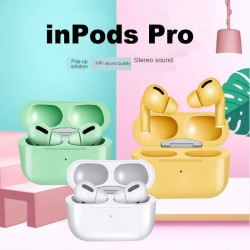 Inpods 13 Pro Tws Wireless Earphones Mini Bluetooth Headset Touch Sport Earphone Stereo Earbuds With Mic