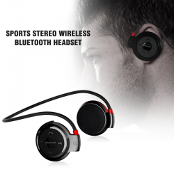 Sports Stereo Wireless Bluetooth Headset  With Memory Card Slot, Mini-503