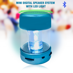 Mini Digital Speaker System With LED Light, A66