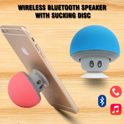 Mini Wireless Bluetooth Speaker With Sucking Disc, MWS002