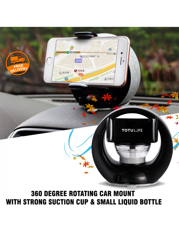 Totu Life 360 Degree Rotating Car Mount With Strong Suction Cup