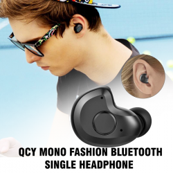 QCY Mono Fashion Bluetooth Single Headphone, J11
