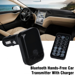 HZ Bluetooth Hands-Free Car Transmitter With Charger, HZ30