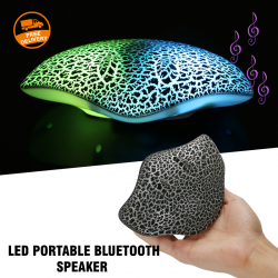Led Speaker Portable Bluetooth TF USB wireless Portable Speaker , S820