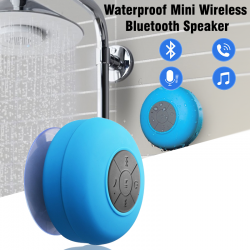 Waterproof Mini Wireless Bluetooth Speaker With Strong Sucking Disc Base, WMS900