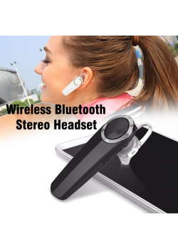 BSNL Wireless Bluetooth Stereo Headset Black, A17