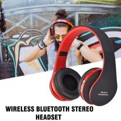 Wireless Bluetooth Stereo Headset, AT-BT809