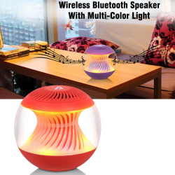 Aibimy MY300BT Wireless Bluetooth Speaker With Multi-Color Light, BT300