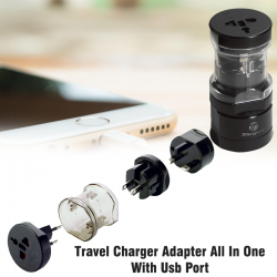 Universal World Wide Travel Charger Adapter All In One With Usb Port, TRVL2