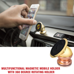 Bracket Multifunctional Magnetic Mobile Holder With 360 Degree Rotating holder, NN360
