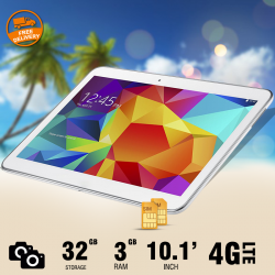 Discover Note3, Tablet 10.1 inch, Android 6.0. 32GB, 4G, Wi-Fi, Quad Core, Dual Camera