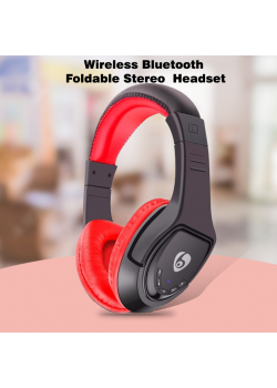 Wireless Bluetooth Headphone Foldable Stereo 4.1 Headset Handsfree Headband Music Player, MX333
