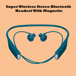 Super Wireless Stereo Bluetooth Headset With Magnetic, boyi5
