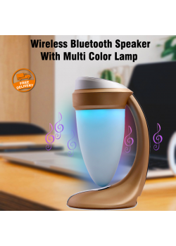 Wireless Bluetooth Speaker With Multi Color Lamp, DS-7609