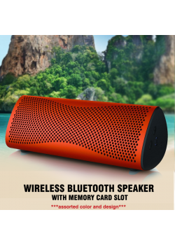 Wireless Bluetooth Speaker With Memory Card Slot, A-30