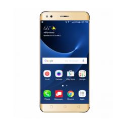 Crescent Wing 2, Smartphone with 4G, Android 6.0 (Marshmallow), 5. Inch HD Display, 1GB RAM, 8GB Storage, Dual Camera, Dual SIM - Gold