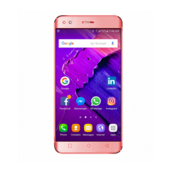 Crescent Wing 2, Smartphone with 4G, Android 6.0 (Marshmallow), 5. Inch HD Display, 1GB RAM, 8GB Storage, Dual Camera, Dual SIM - Red