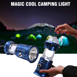 Magic Cool Camping Light 3 in 1 multi-color led lamp, SH-5801