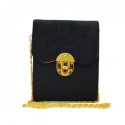 City Fashion Crossbody Bag With Flap Closure, LVE2662