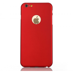 360 Degree Full Body Protection Case For iPhone 6 & 6s, Red